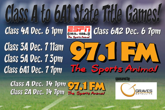 Every State Title Football Game Class A – 6A1!