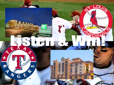 Win game tickets and a nights stay!