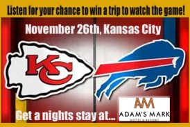 See the Chiefs & Bills!