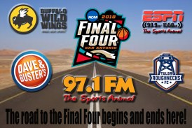 You're home for the college basketball tournament!