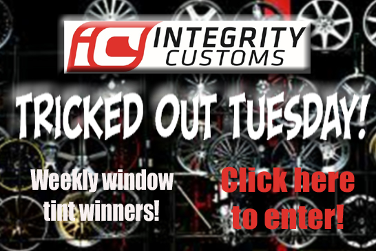 Win a free window tint!