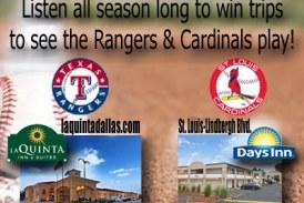 Win MLB trips!