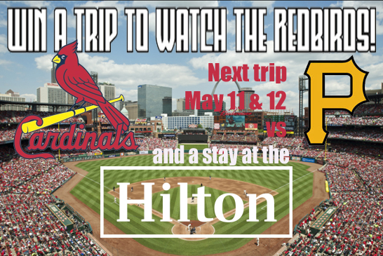 Win trips to St. Louis!