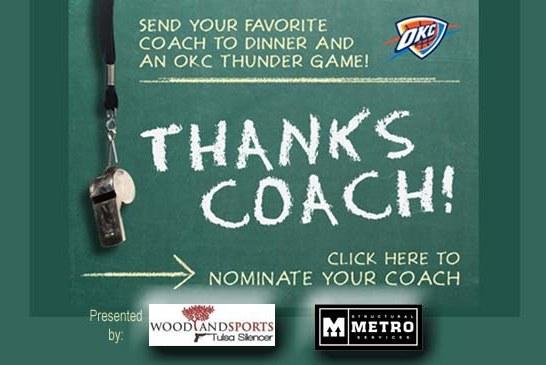 Thanks Coach!